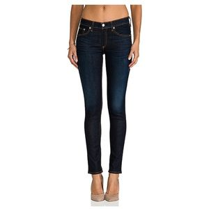 rag & bone Kensignton Dark Wash Skinny Jeans 28